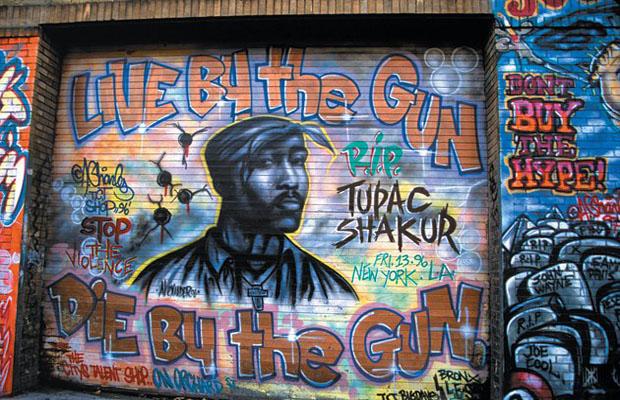 2pac biggie e tanti altri ecco alcuni graffiti dedicati for Mural meaning