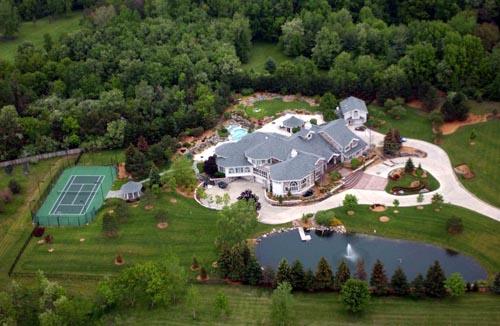 Eminem Cribs Eminem house Eminem House And Cars