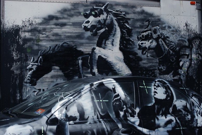 banksy-new-york-horse1