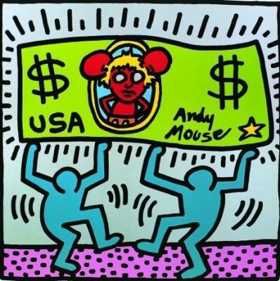 Keith Haring - 54esimo anniversario della sua nascita - Hip Hop Rec