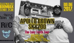Apollo Brown + Skyzoo @ BoomBox (Brescia) 9/06