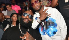 Rick Ross e Gucci Mane di nuovo insieme in She On My Dick