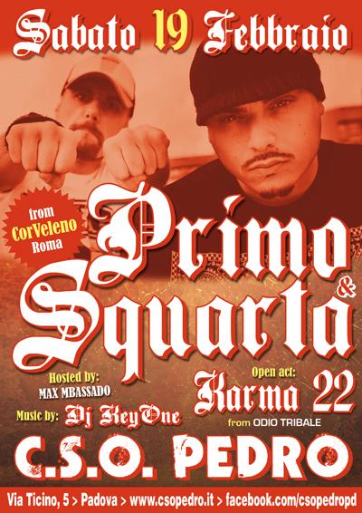 Primo squarta c s o pedro padova 19 02 hip hop rec for Pedro padova