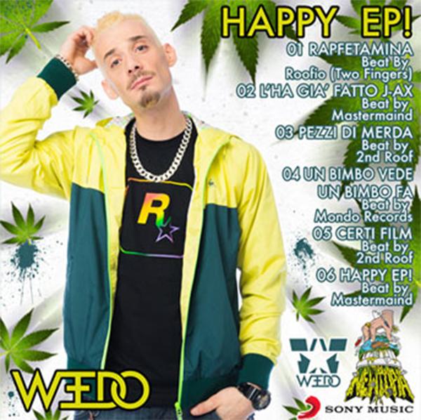 Weedo happy ep download hip hop rec - Testo tu no gemelli diversi ...