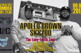 Apollo Brown + Skyzoo @ BoomBox (Brescia) 9/06