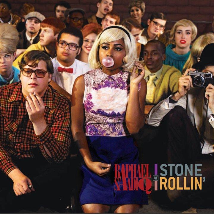 Raphael Saadiq Stone Rollin Cover