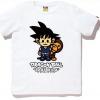 Il brand BAPE lancia le magliette di Dragon Ball
